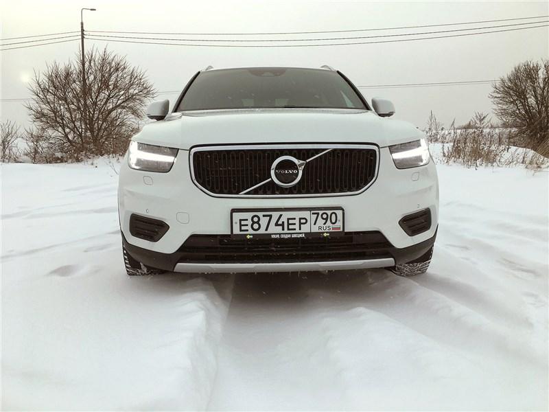 Volvo XC40 (2018) Испытание зимой