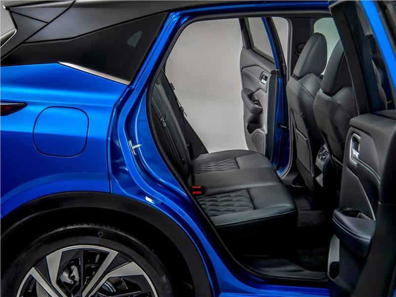 Nissan Qashqai (2022) задний диван