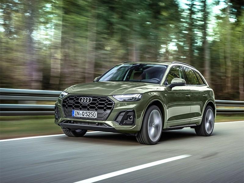 В Россию приехал новый Audi Q5