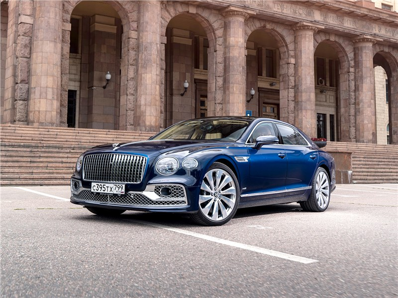 Bentley Flying Spur - bentley flying spur (2020) не признает компромиссов