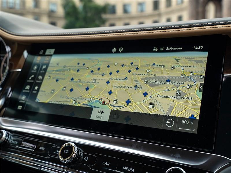 Bentley Flying Spur (2020) монитор