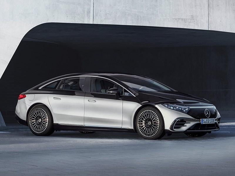 В Mercedes представили свой электрический флагман