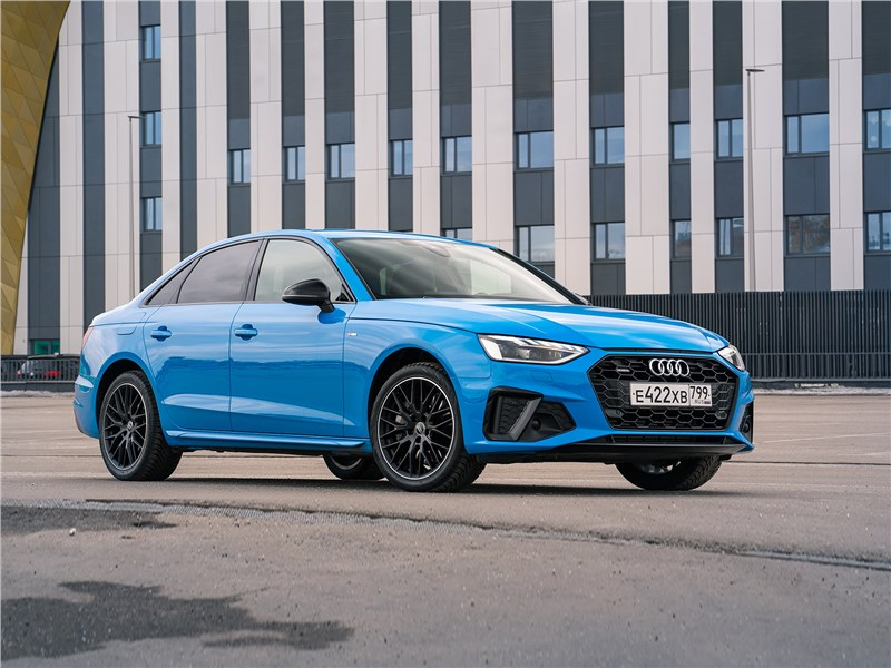 Audi A4 - audi a4 (2020) интеллигент с бицепсами качка