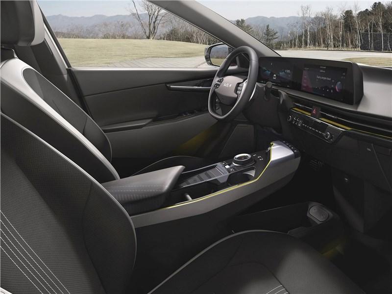 Kia EV6 (2022) передние кресла