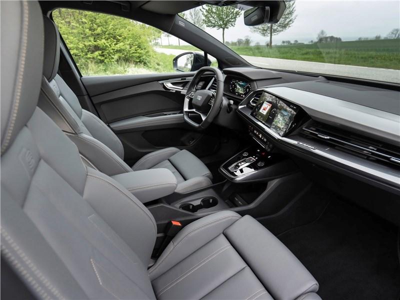 Audi Q4 e-tron (2022) передние кресла