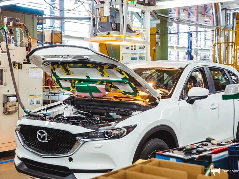 Автомобили Mazda будут полностью локализованы