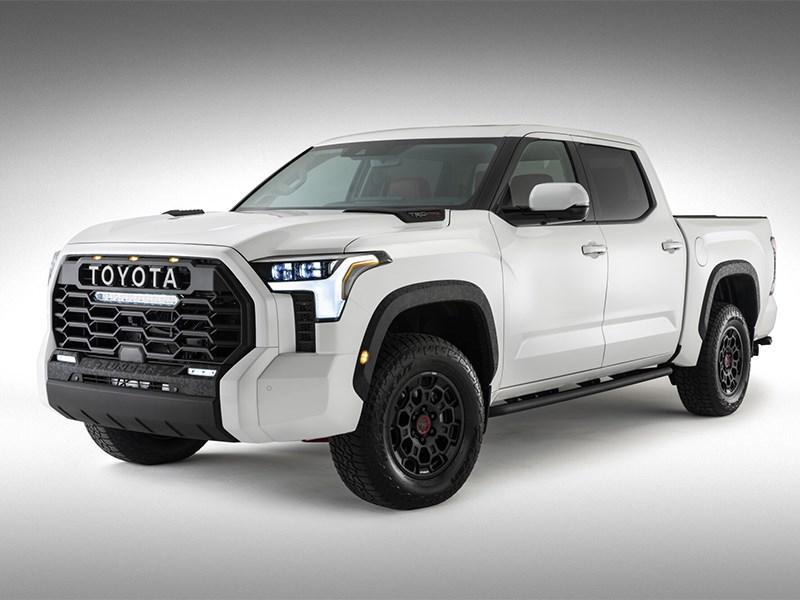 Toyota Tundra официально показали