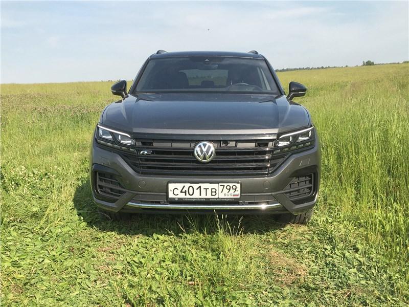 Volkswagen отзывает Touareg в России