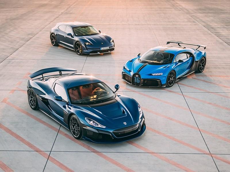 Bugatti и Rimac будут совместно покорять мир спорткаров.