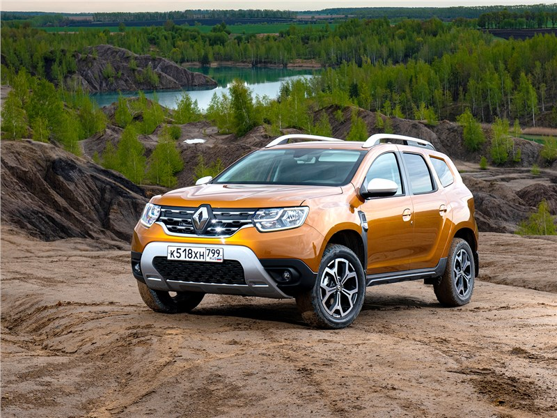 Renault Duster (2021) теперь и с вариатором