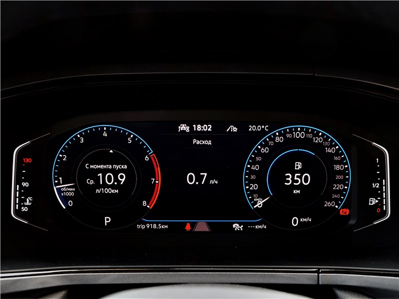 Volkswagen Taos (2022) приборная панель