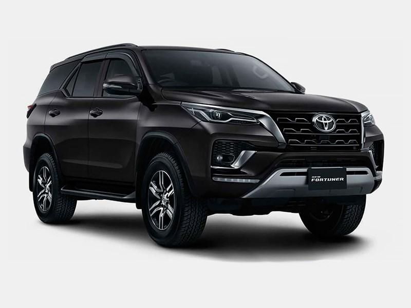 Toyota Fortuner обзавелась версией GR Sport
