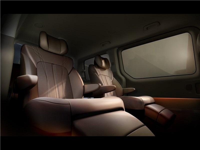 Hyundai Staria (2022) задний кресла