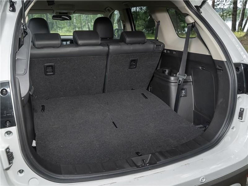 Mitsubishi Outlander (2021) багажное отделение