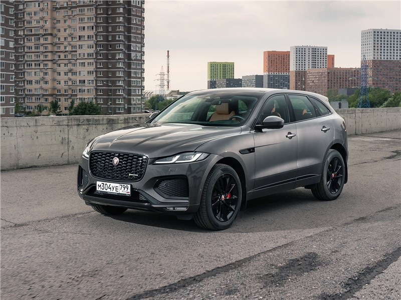 Jaguar F-Pace (2021) Теперь в Jaguar F-Pace очень легко дышится, и это не фигура речи