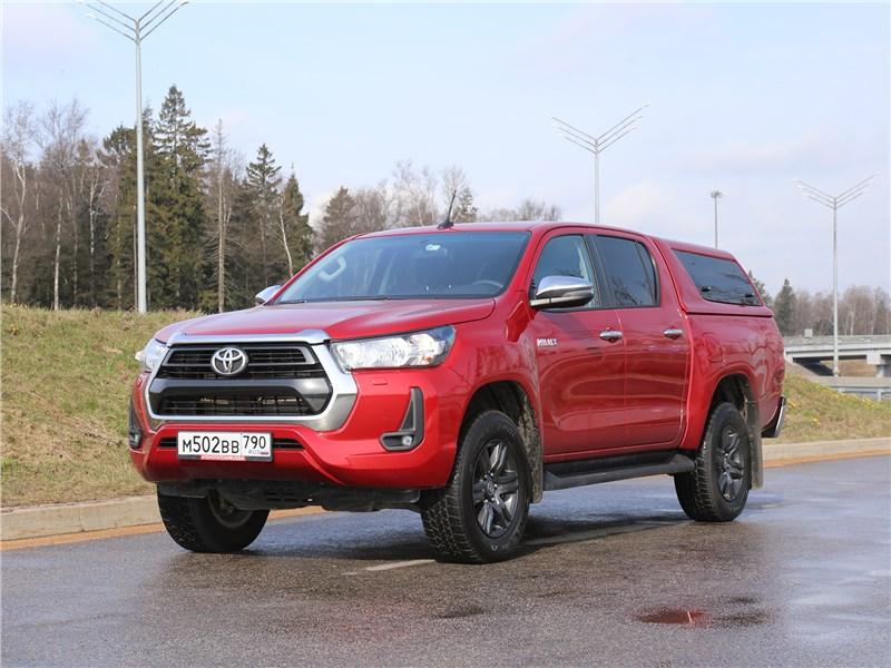 Инфоцентр: Как «крышевать» Toyota Hilux