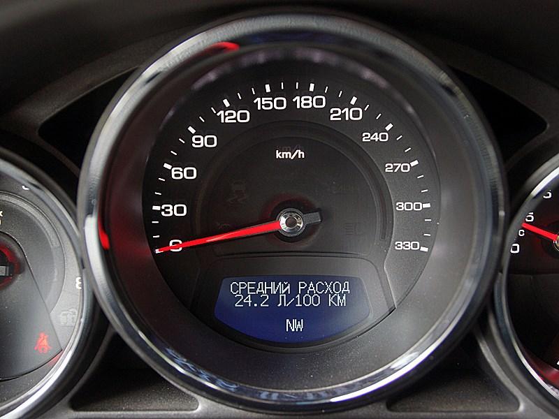 Cadillac CTS-V 2009 спидометр