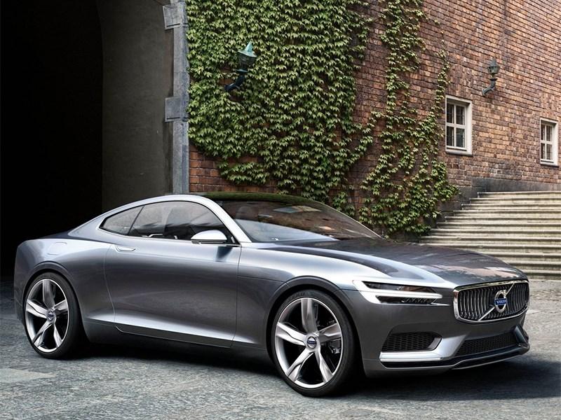 Volvo делится информацией о новом Concept Coupe