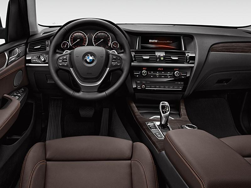 BMW X3 2014 интерьер фото 1