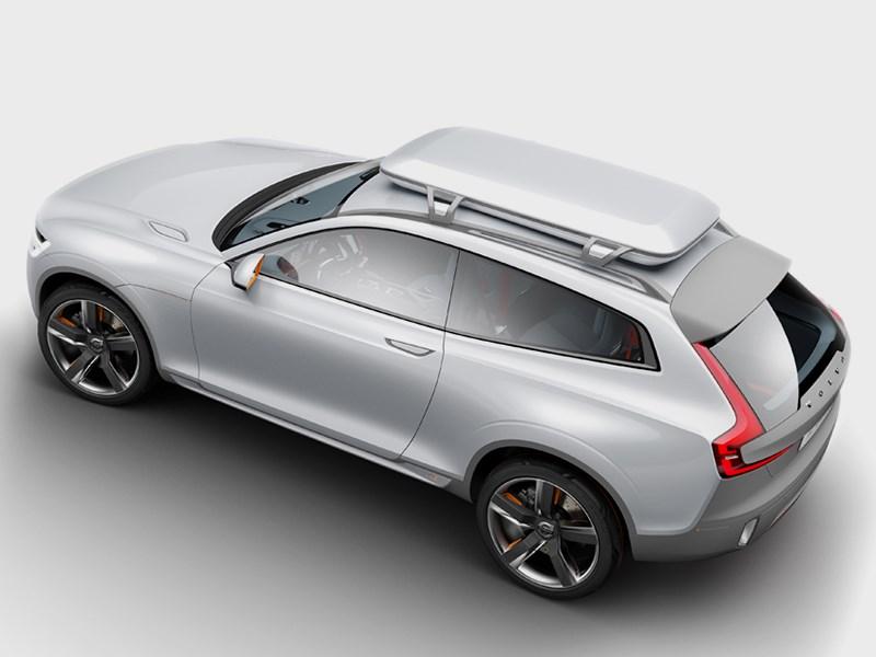 Volvo XC Coupe concept 2014 вид сверху фото 2