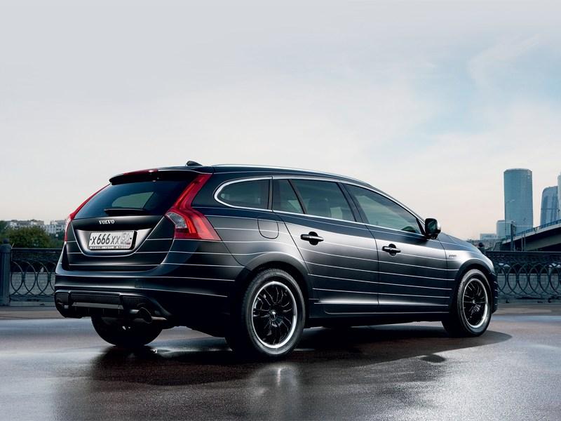Volvo Обухов Инжиниринг V60 вид сзади