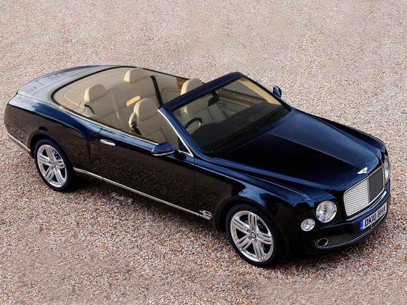 Кабриолет Bentley Mulsanne никогда не станет серийным