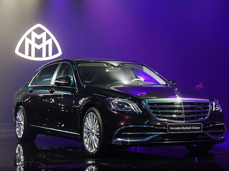 Обновленный Mercedes-Benz S-класса появился в России