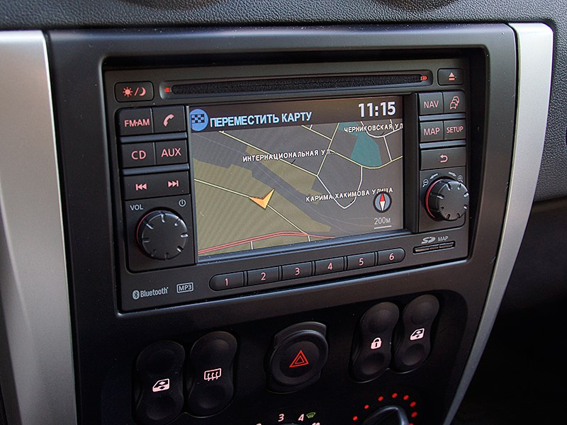 Nissan Almera 2014 мультимедийная система
