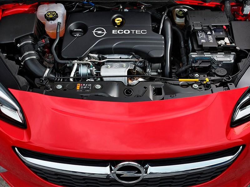 Opel Corsa 2015 двигатель