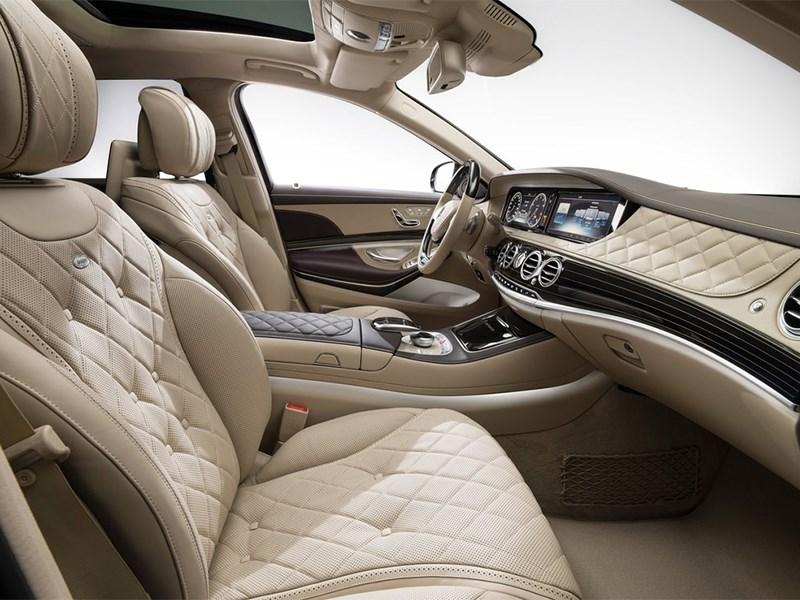 Mercedes-Maybach S 600 2015 передние кресла