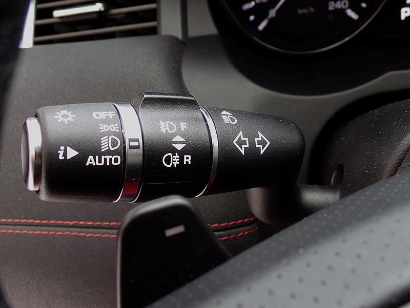 Range Rover Evoque 2012 подрулевй рычажок