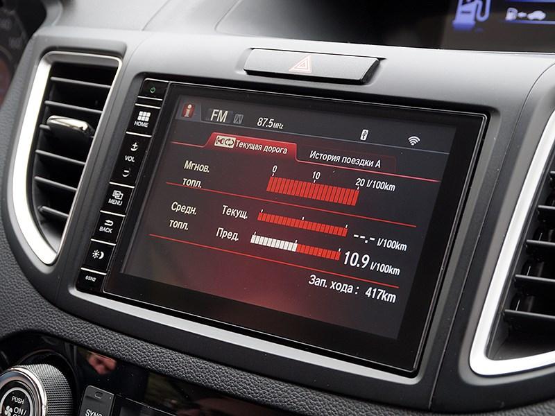 Honda CR-V 2015 центральная консоль