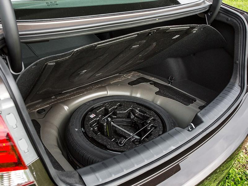 Hyundai i40 2015 запасное колесо