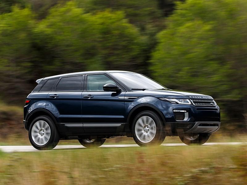 Land Rover Range Rover Evoque 2016 вид сбоку