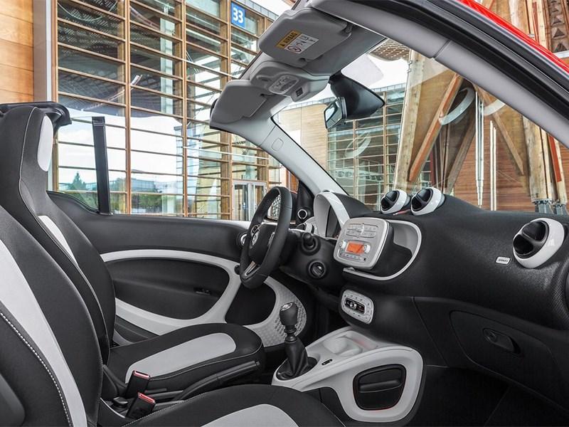 Smart ForTwo Cabrio 2016 кресла