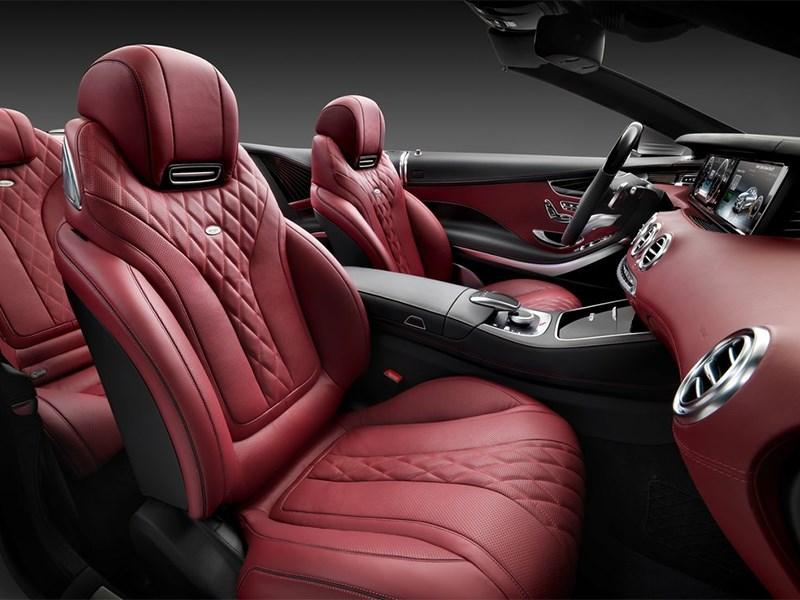 Mercedes-Benz S-Class Cabrtiolet 2016 передние кресла