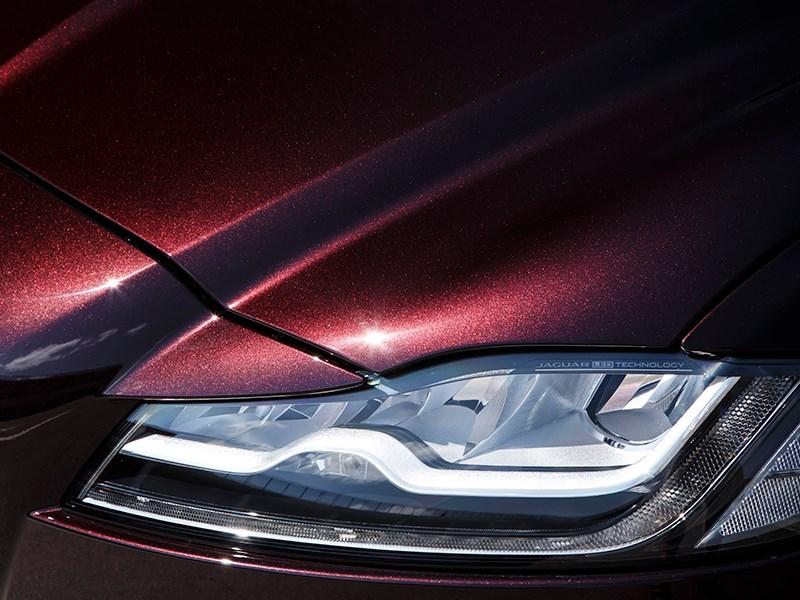 Jaguar XF 2016 передняя фара