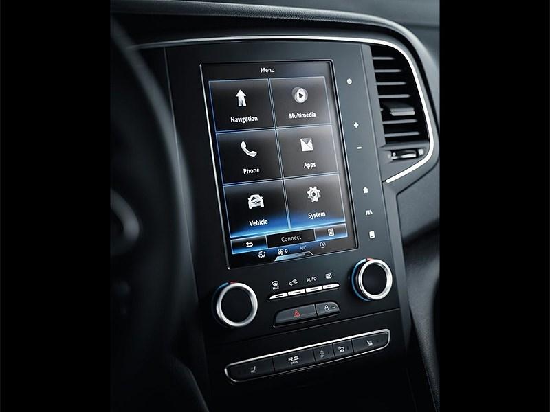 Renault Megane 2016 центральная консоль