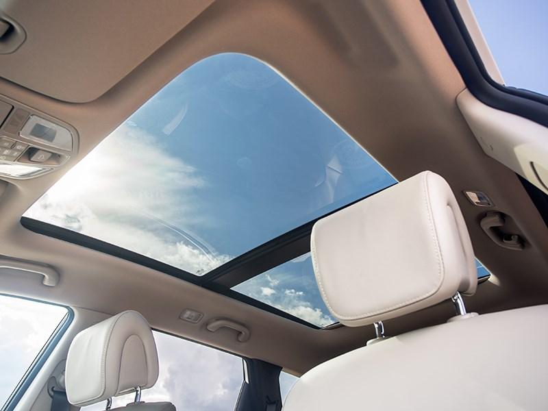 Hyundai Santa Fe 2015 панорамный люк
