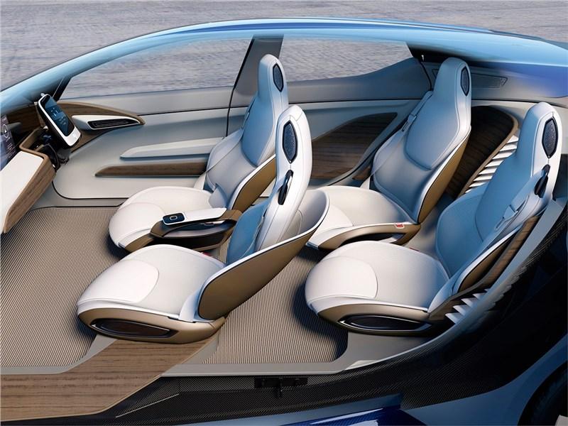 Nissan IDS concept 2015 кресла