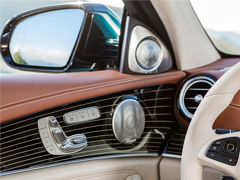 Mercedes-Benz E-Klasse 2017 кнопки управления на двери