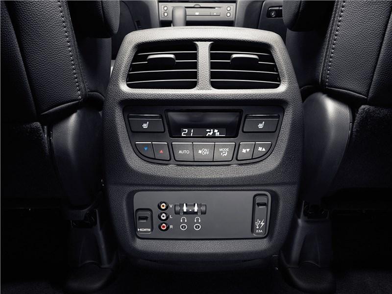Honda Pilot 2016 климат для пассажиров