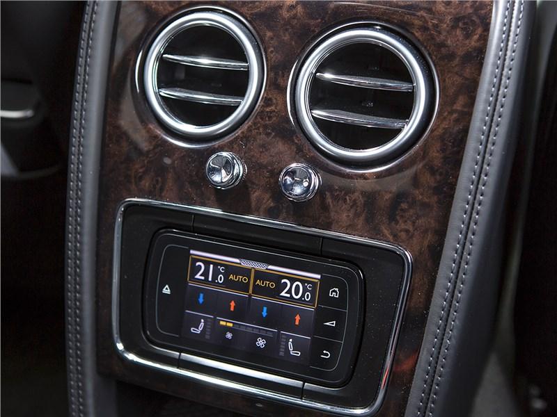 Bentley Continental Flying Spur 2013 климат для второго ряда
