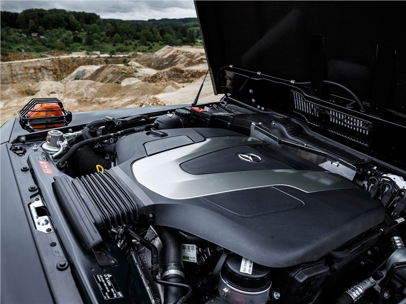 Mercedes-Benz G350d Professional 2017 двигатель