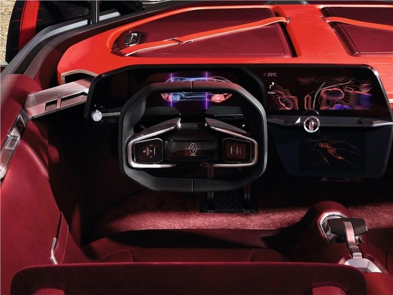 Renault Trezor Concept 2016 интерьер