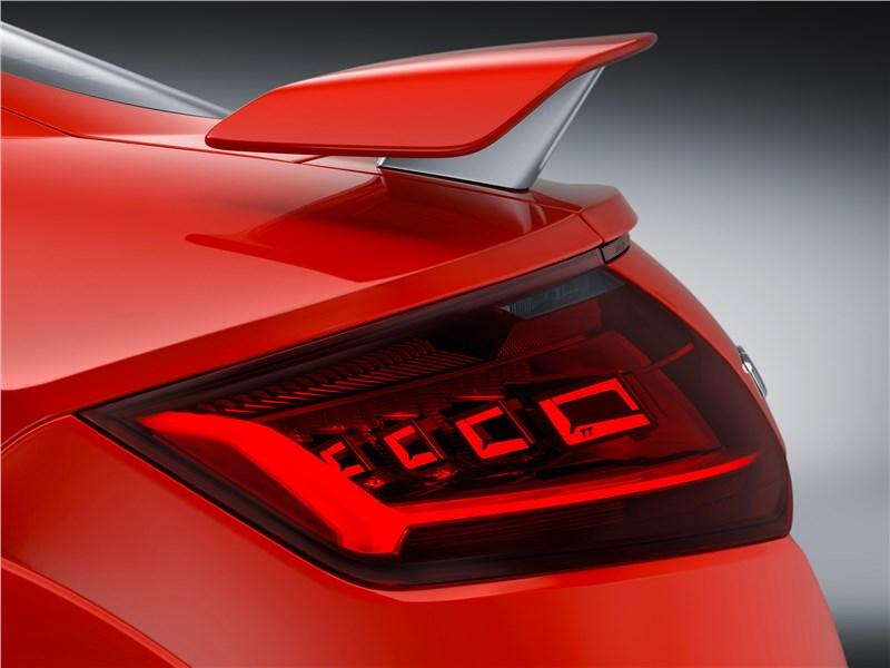 Audi TT RS Coupe 2017 задний фонарь
