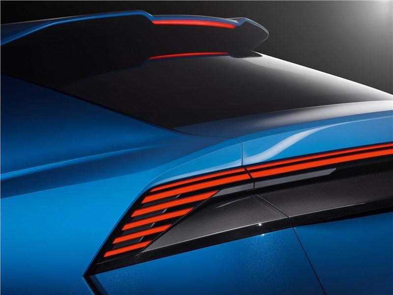 Audi Q8 concept 2017 задний фонарь