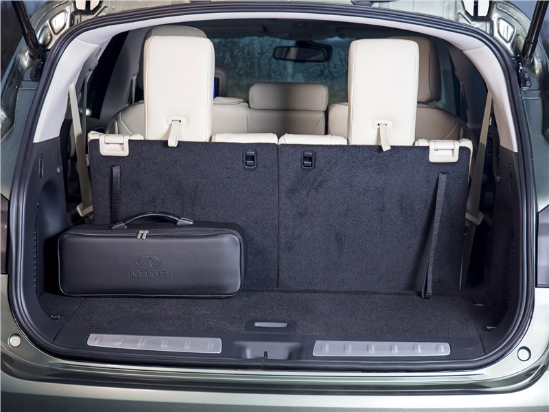 Infiniti QX60 2017 багажное отделение