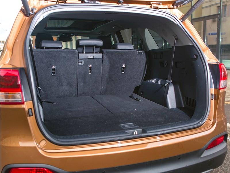 KIA Sorento 2015 багажное отделение