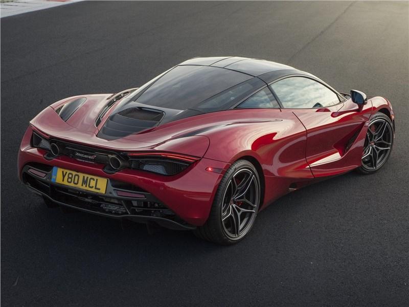 McLaren 720S 2018 вид сзади